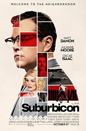 movie poster of Suburbicon