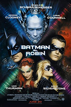 movie poster of Batman & Robin
