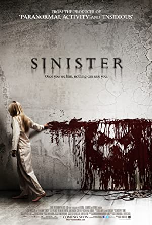 movie poster of Sinister