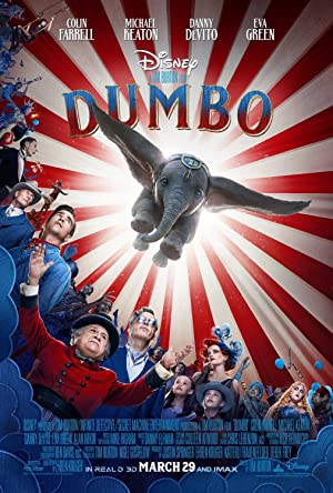 movie poster of Dumbo