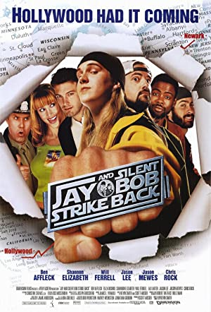 movie poster of Jay and Silent Bob Strike Back
