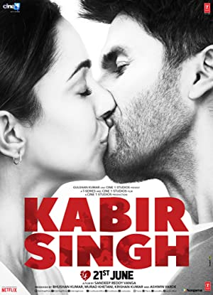 movie poster of Kabir Singh