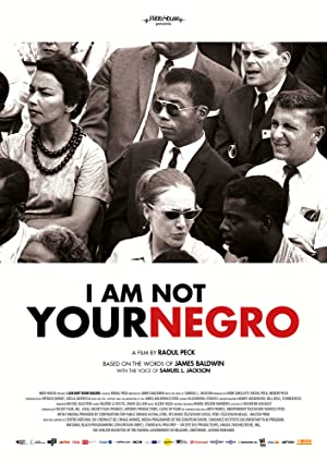 movie poster of I Am Not Your Negro