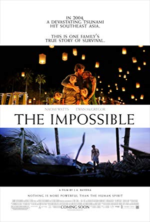 movie poster of The Impossible