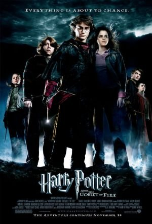 movie poster of Harry Potter and the Goblet of Fire