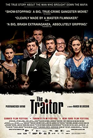movie poster of Il traditore