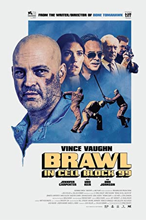 movie poster of Brawl in Cell Block 99