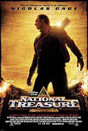 movie poster of National Treasure