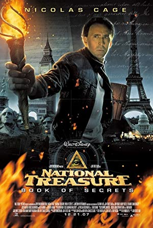 movie poster of National Treasure: Book of Secrets