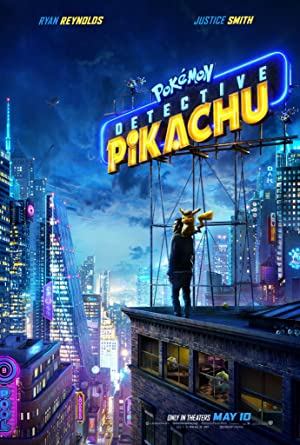 movie poster of Pokémon: Detetive Pikachu