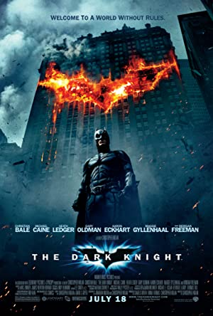 movie poster of The Dark Knight : le chevalier noir