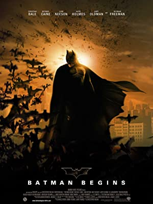 movie poster of Batman Begins