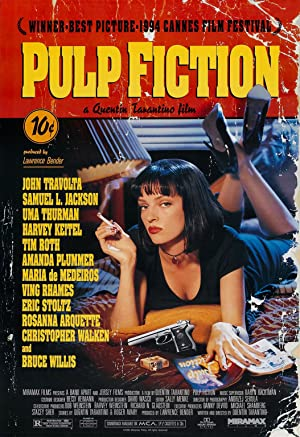 movie poster of Pulp Fiction - Tempo de violência