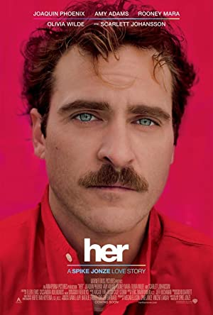 movie poster of Her