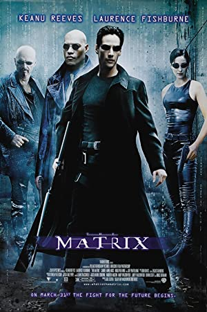movie poster of The Matrix