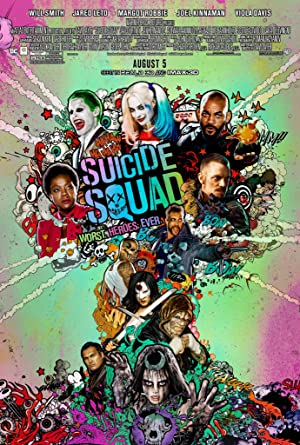 movie poster of Suicide Squad