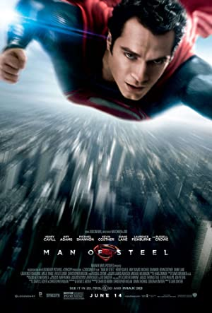 movie poster of Man of Steel