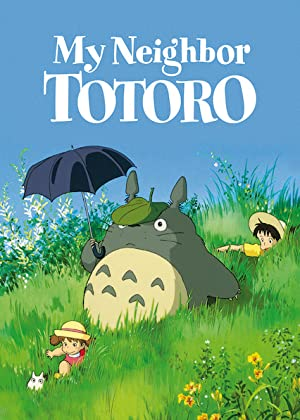 movie poster of My Neighbor Totoro