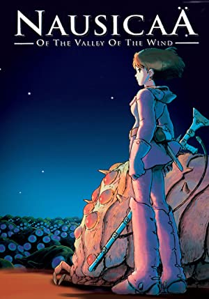 movie poster of Nausicaä of the Valley of the Wind