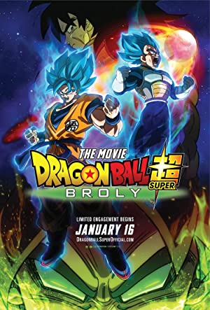 movie poster of Dragon Ball Super: Broly