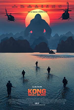 movie poster of Kong: A Ilha da Caveira