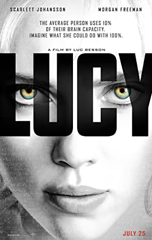 movie poster of Lucy