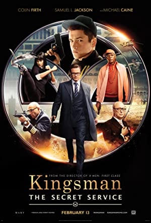 movie poster of Kingsman: The Secret Service