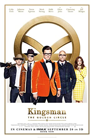 movie poster of Kingsman: The Golden Circle