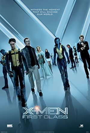 movie poster of X-Men: First Class