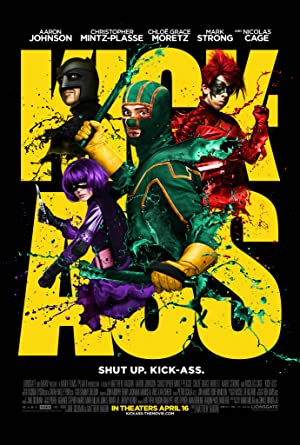 movie poster of Kick-Ass