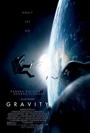 movie poster of Gravity