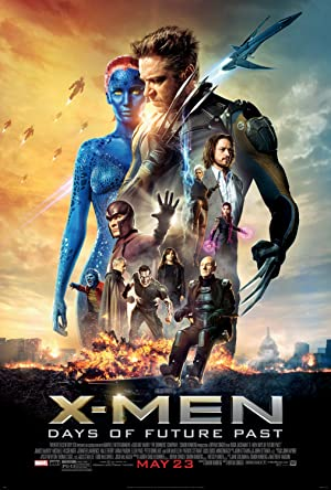 movie poster of X-Men: Days of Future Past