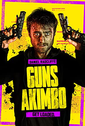 movie poster of Guns Akimbo