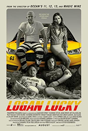 movie poster of Logan Lucky