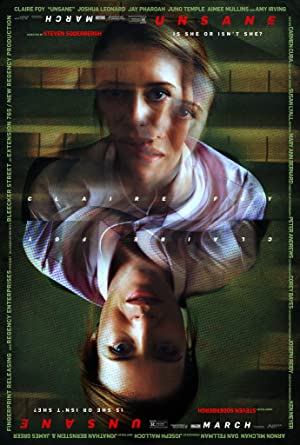 movie poster of Unsane