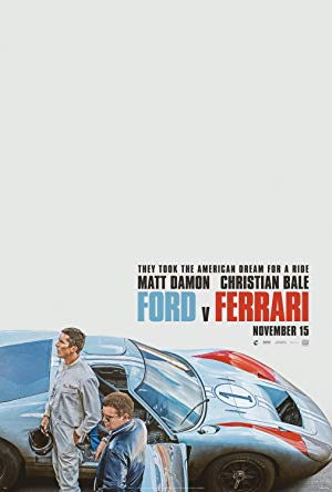 movie poster of Ford v Ferrari