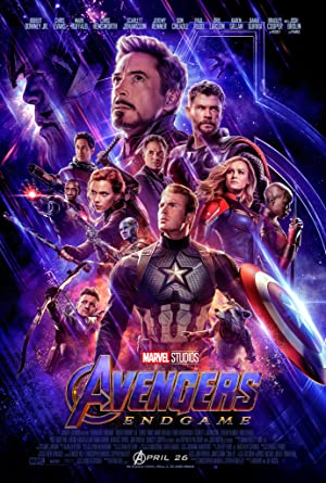 movie poster of Vengadores: Endgame