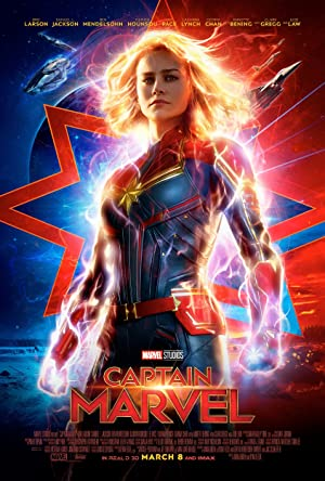 movie poster of Capitana Marvel