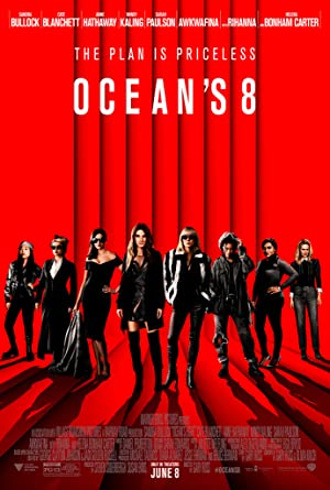 movie poster of Ocean's 8
