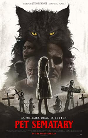 movie poster of Cementerio de animales