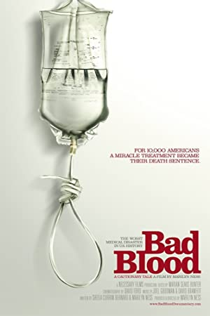movie poster of Bad Blood: A Cautionary Tale