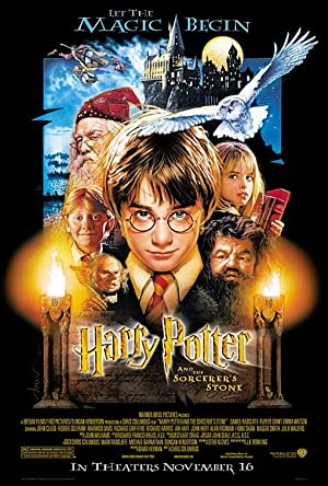 movie poster of Harry Potter e la Pietra Filosofale