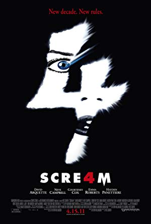 movie poster of Scream 4