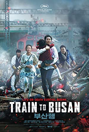 movie poster of Train to Busan