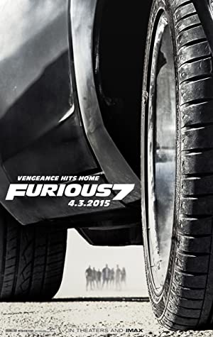 movie poster of Fast and Furious 7