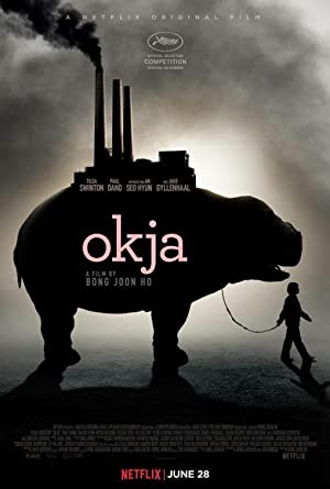 movie poster of Okja