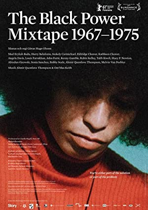movie poster of The Black Power Mixtape 1967-1975