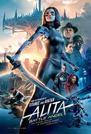 movie poster of Alita: Ángel de combate