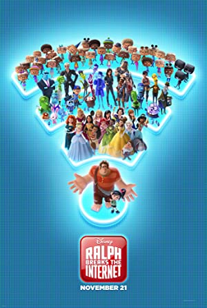movie poster of Ralph rompe Internet