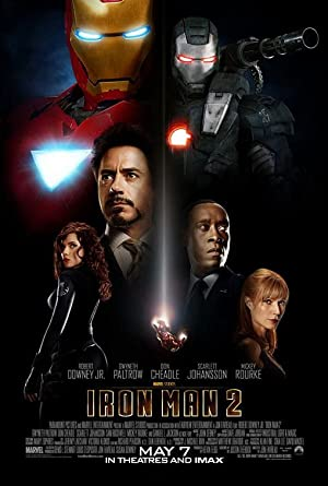 movie poster of Iron Man 2
